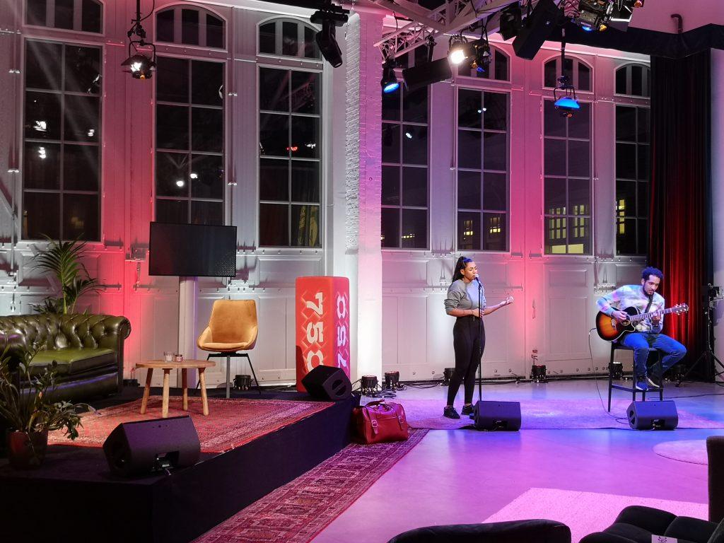 online event in de hallen studio's